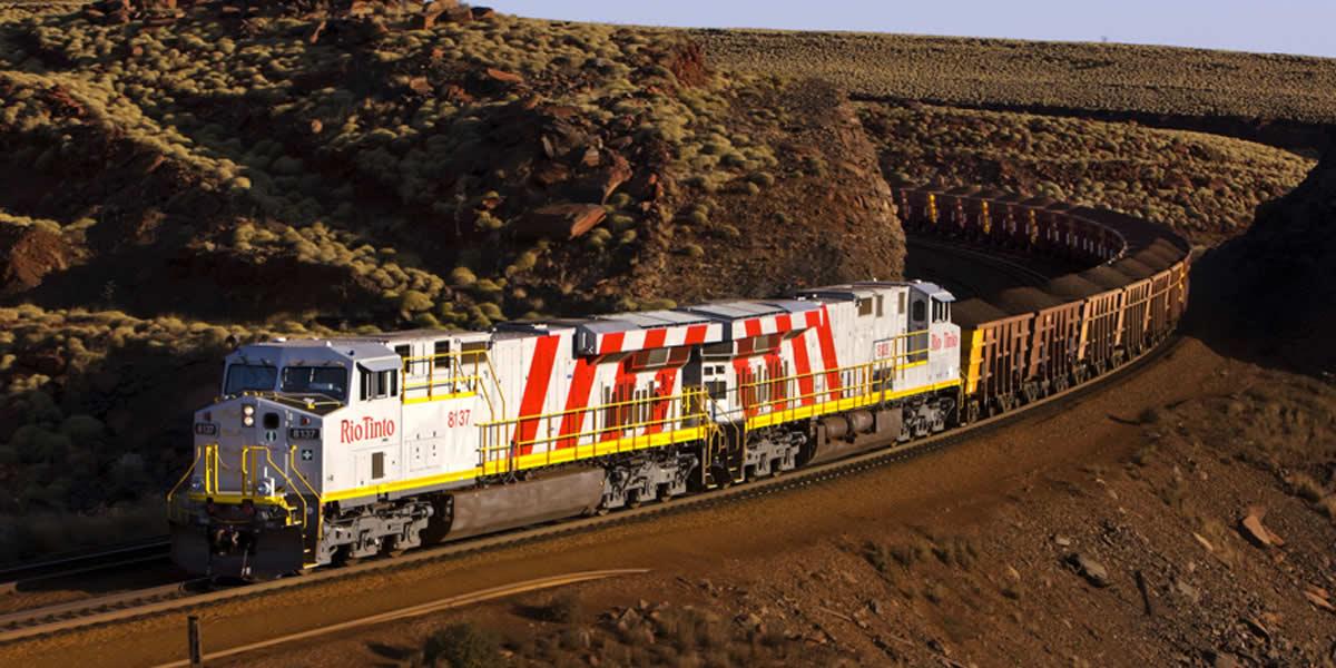 Rio Tinto completa su primer viaje ferroviario totalmente autonomo en Australia