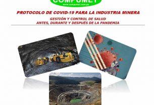 Protocolo para el reinicio de actividades en el sector minería